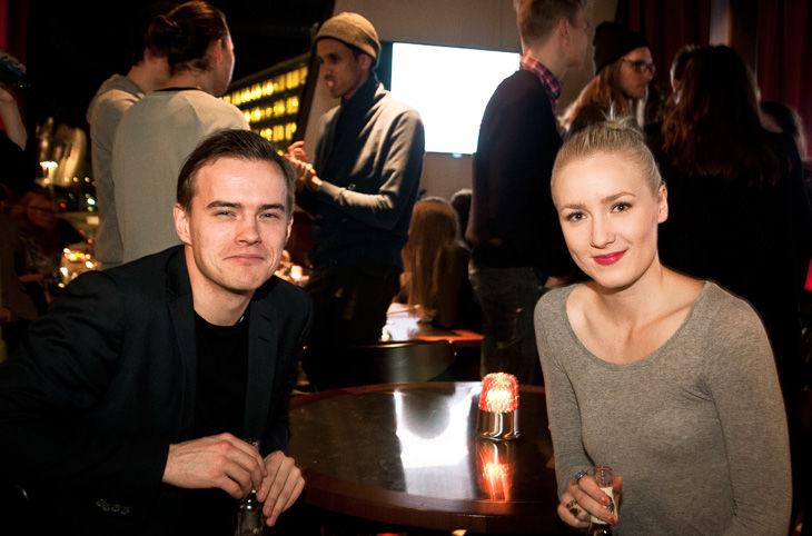 Jonathan Hörnhagen och Anna Furberg