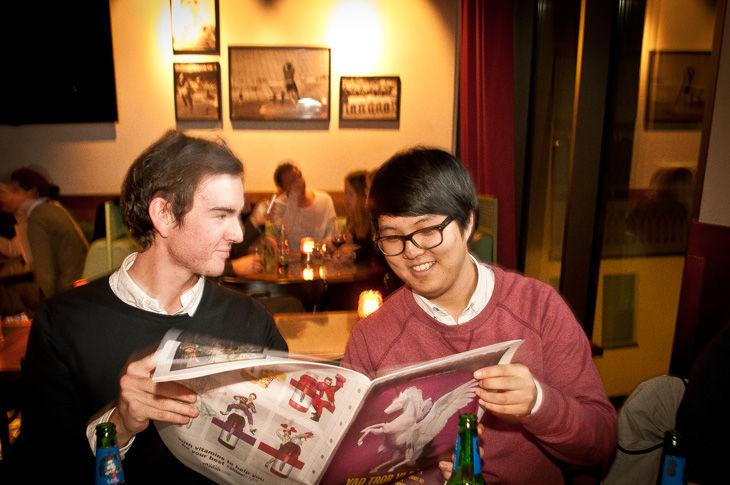 Mikael Beventorp och Yong-Namm Lee