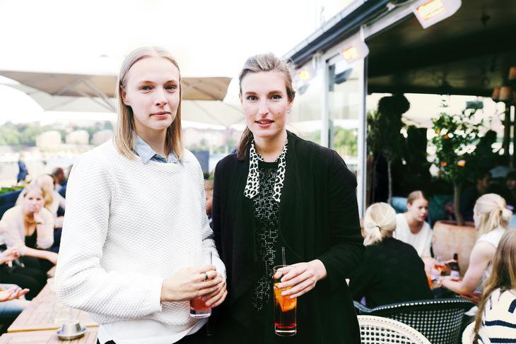 Paulina Jean Nilsson och Stina Olofsson