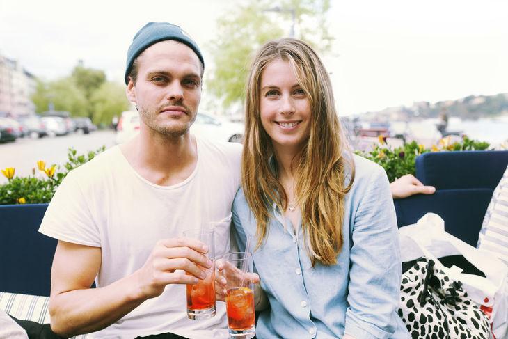 Sam Wennerholm och Helena Göransson