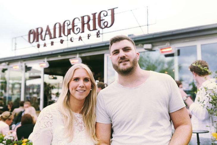 Anna Sandell och Hugo Simberg
