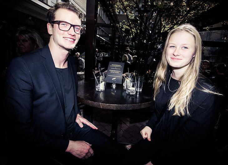Anton Nordlif och Sophie Sandberg