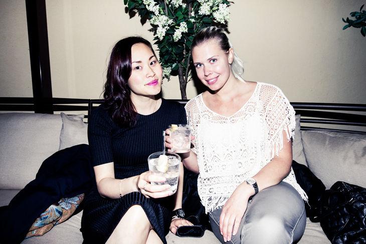 Christine Klivholm och Sofie
