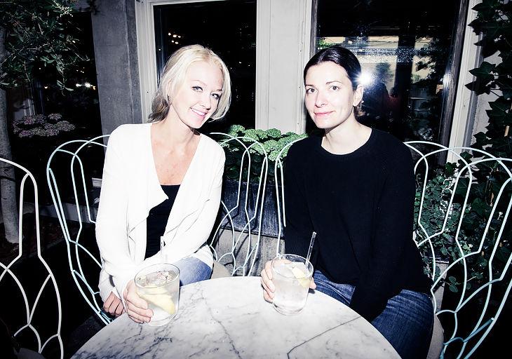 Elin Kereby och Josefina Mandaric