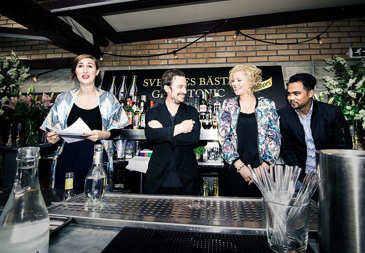 Helena Wittbom, Pelle Tamleht, Therese Hädinggård & Chris Raheria Hellström