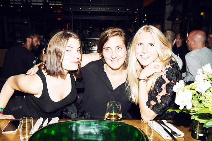 Greta Thurfjell, Lotti Staedler och Anna Sandell