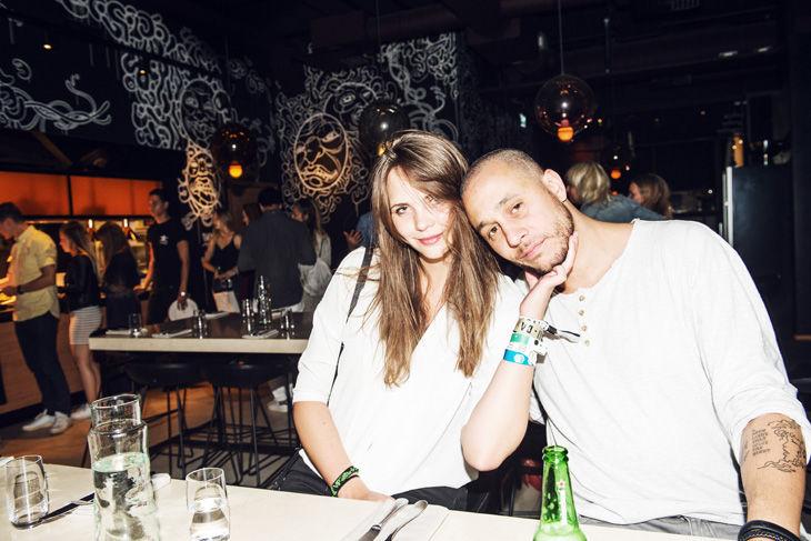 Eija Skarsgård och Zeke Tastas