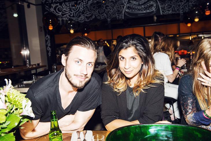 Jacob Nyström och Soraya Hashim