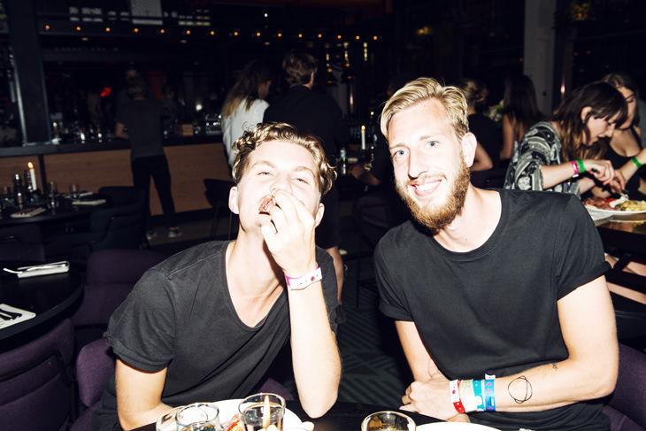 Rasmus Blom och Carl Von Wachenfeldt