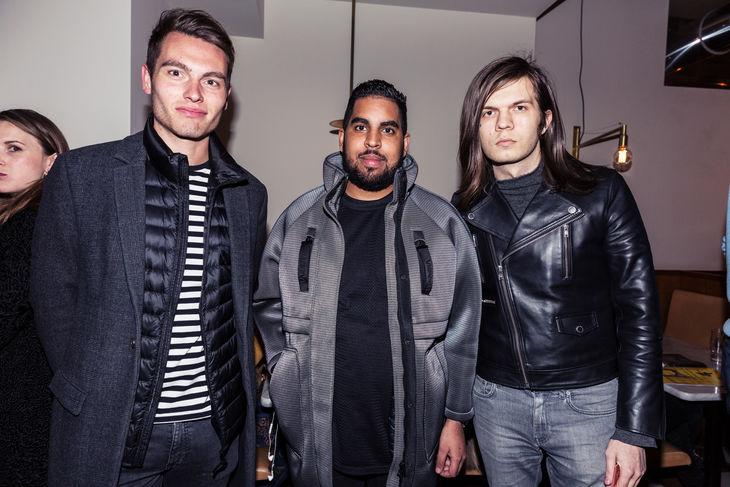 Harry Falco, Jordache Naran & Frasse Levinsson