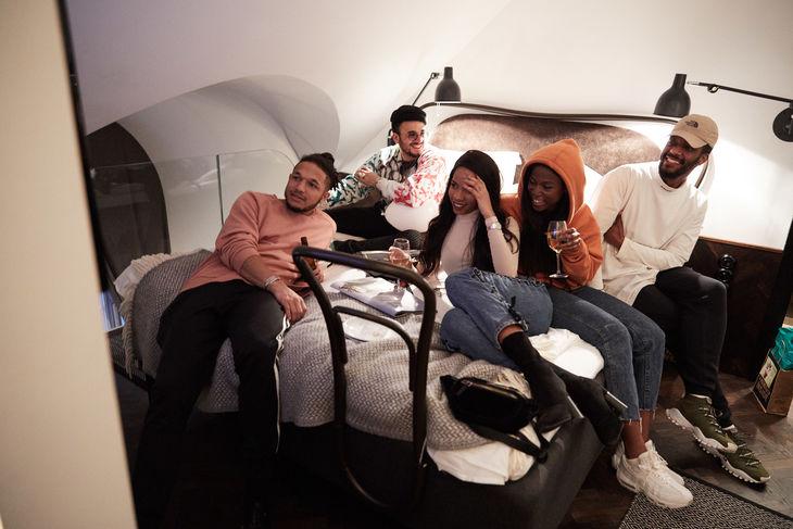 Marvin, Janice, Sabina Ddumba, Kim Cesarion & Adam Taal