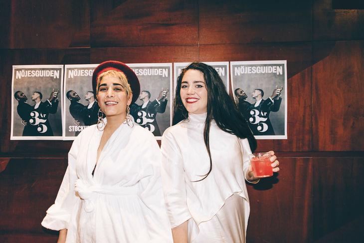Peyvand Ahmedi & Jenny Nordlander