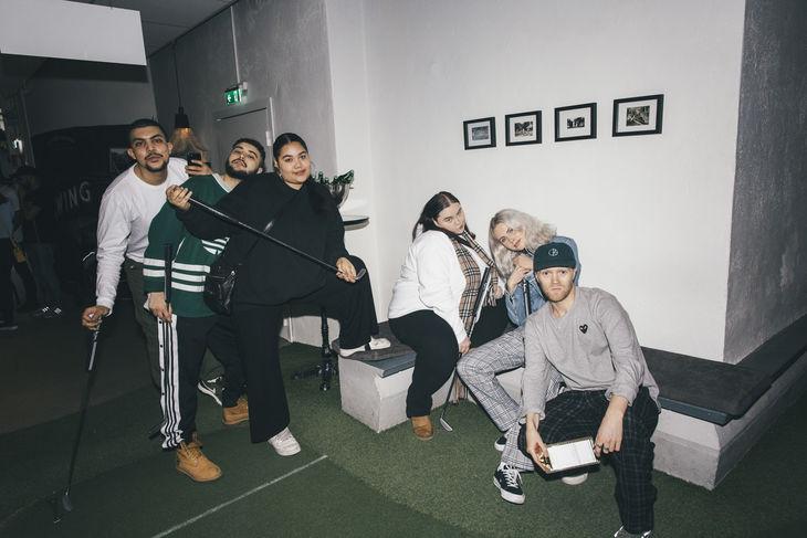Mohamed Touzari, Jón Alaiwan, Julia Victor, Oliva Gateau, Annie Friberg & Philip Hördegård