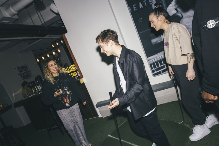Aline Bennouch, Emil Beer & Rebecca Ejdemo