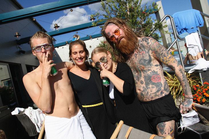 Erik Wirkensjö, Isabelle Kvist, Amanda Wiksten & Olov Tegby Frisk