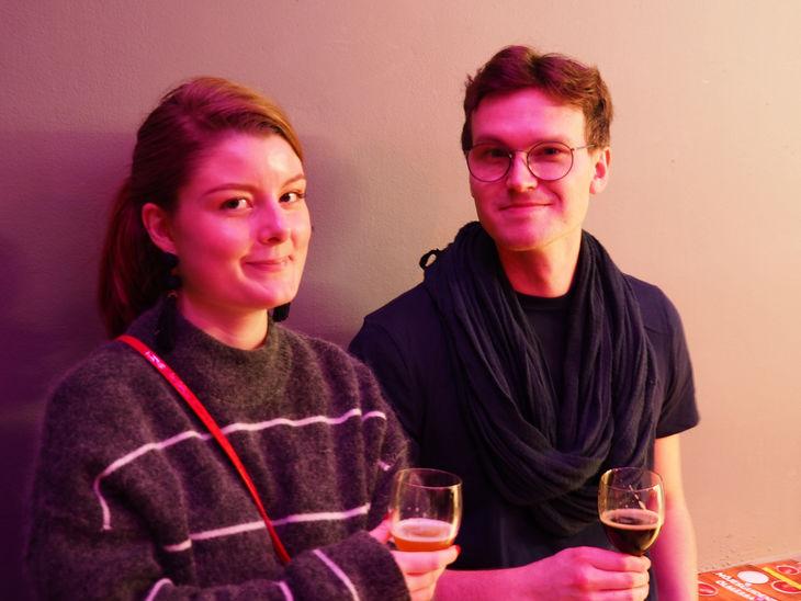 Adelise Warberg och Alexander Nilsson.