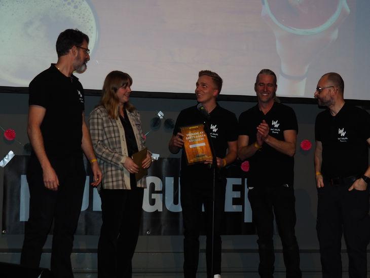 Vinnare av bästa bryggeri 2019 - Wet Whistle Brewery.