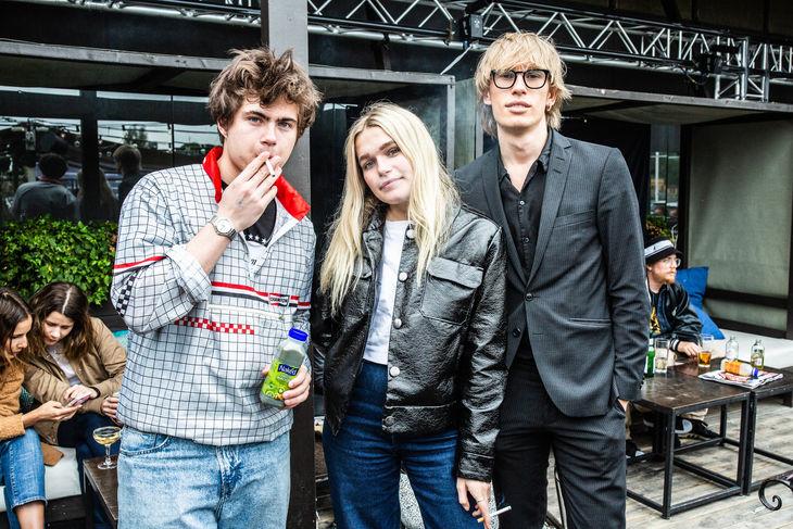 Vincent Lewalski, Ingrid Altino och Arthur Ljunggren