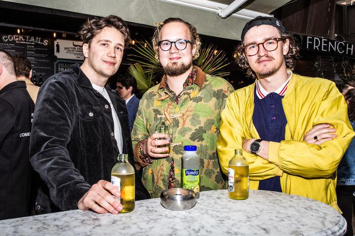 Oliver Györki och Jonatan Loxdal