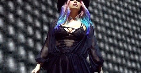 Kesha på Coachella tidigare i år.