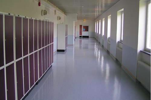 Utsatt miljö för skolbarn.