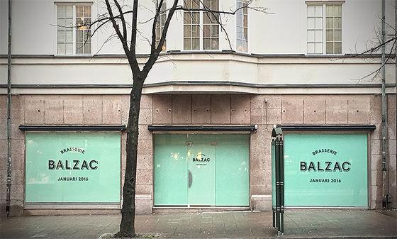 Brasserie Balzac.