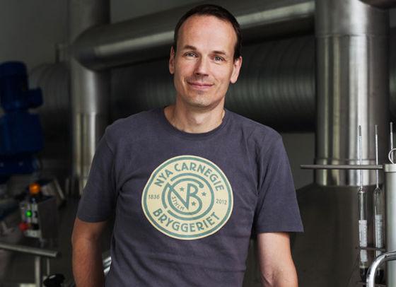 Anders Wendler, bryggmästare på Nya Carnegiebryggeriet.