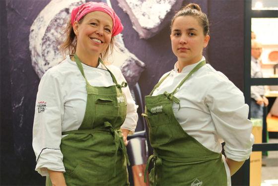 Lisa Lönner Pulkkinen och Linn Söderström.