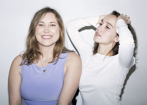 Amelie Dahlbäck och Tora Bolin är Celeztes nattklubbschefer för sommarsäsongen. Foto. Märta Thisner