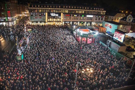 Musikhjälpen 2015 i Linköping slog publikrekord.