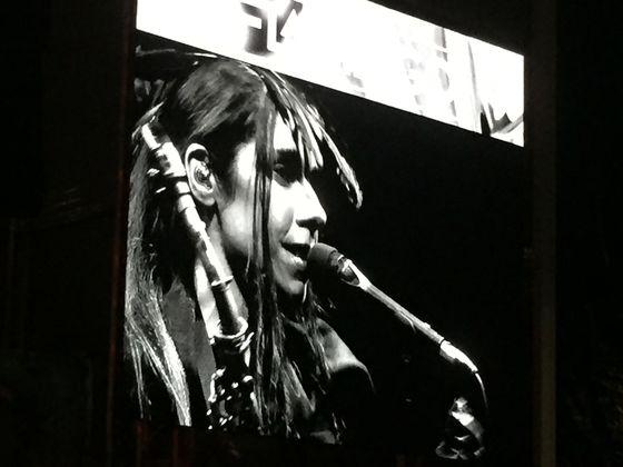 PJ Harvey på Way Out West.