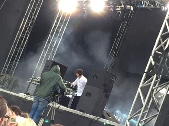 Jamie xx på Way Out West.