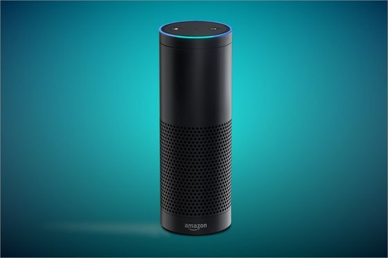 "Amazon Echo, aka ""Alexa""."