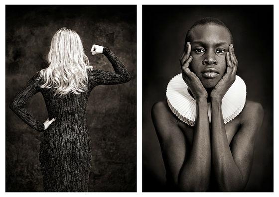 Zara Larsson och supermodellen Alek Wek. Bild: Albert Wiking