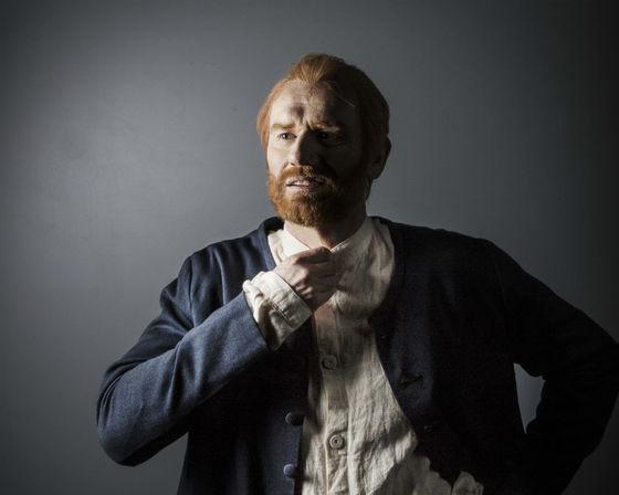 Fredrik Gunnarsson som Vincent van Gogh. Bild: Emmalisa Pauly