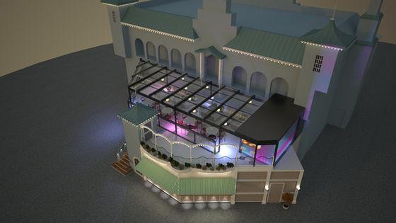 Konceptbild över Terrassen.