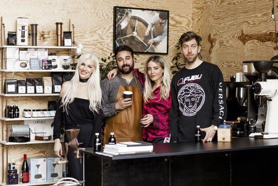 Mio Sallanto, Aadel Kersh, Fiona Fitzpatrick och Stefan Axel Foley.