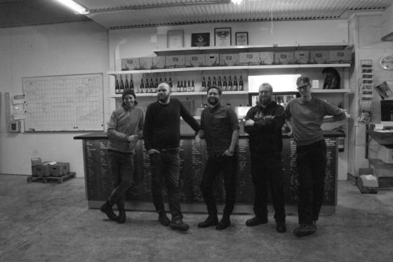 Fr. vänster: Kalle von Spreti, Magnus Vasilis, Claes Ljunggren, Peter Ekvall & Otto Asklid.