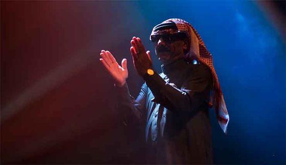 Omar Souleyman spelade på förra årets Gather.