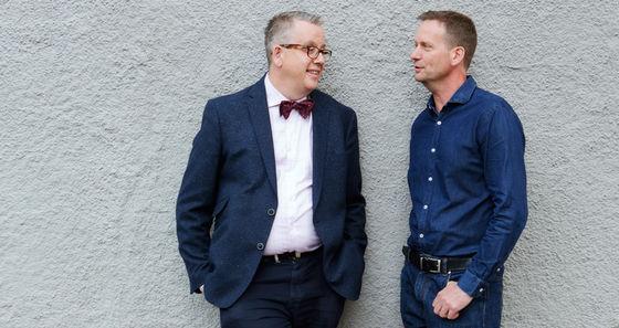 Richard Tellström och Håkan Jönsson.