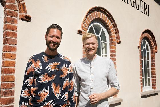 Mikael Mossvall och Luqaz Ottosson.