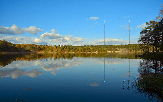 Källtorpssjön vid Hellasgården.