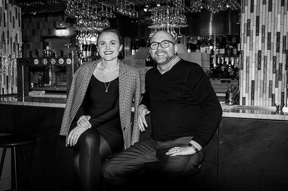 Julia Angelin och Kenneth Hallström, foto: Jesper Brandt.
