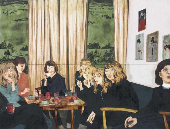 """Verk från utställningen. Mamma Andersson, """"About a girl"""", 2005."""""""