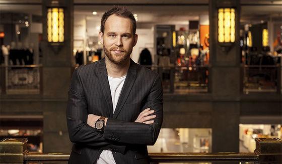 Björn Frantzén, ensam i Sverige med tre stjärnor.