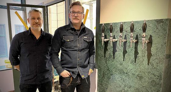 Christian Kirmair och Johan Thor ska hjälpa Stigbergets att etablera sig i Stockholm.