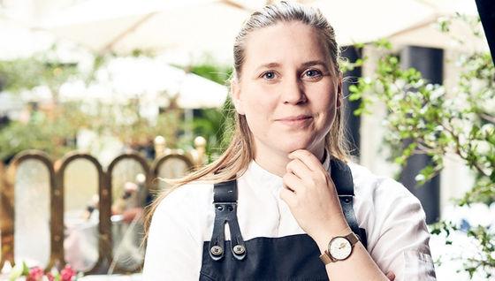 Frida Nilsson, prisbelönt kock.