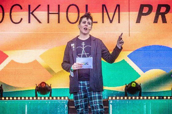 Invigning av Stockholm Pride 2019.