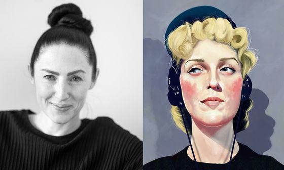 Emma Gray Munthe (foto: Magdalena Björnsdotter), Eva Dahlbeck (affisch: Elin Eplet Sandström)