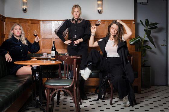 Elina Gregor, Frida Lund och Amanda Nordlöw